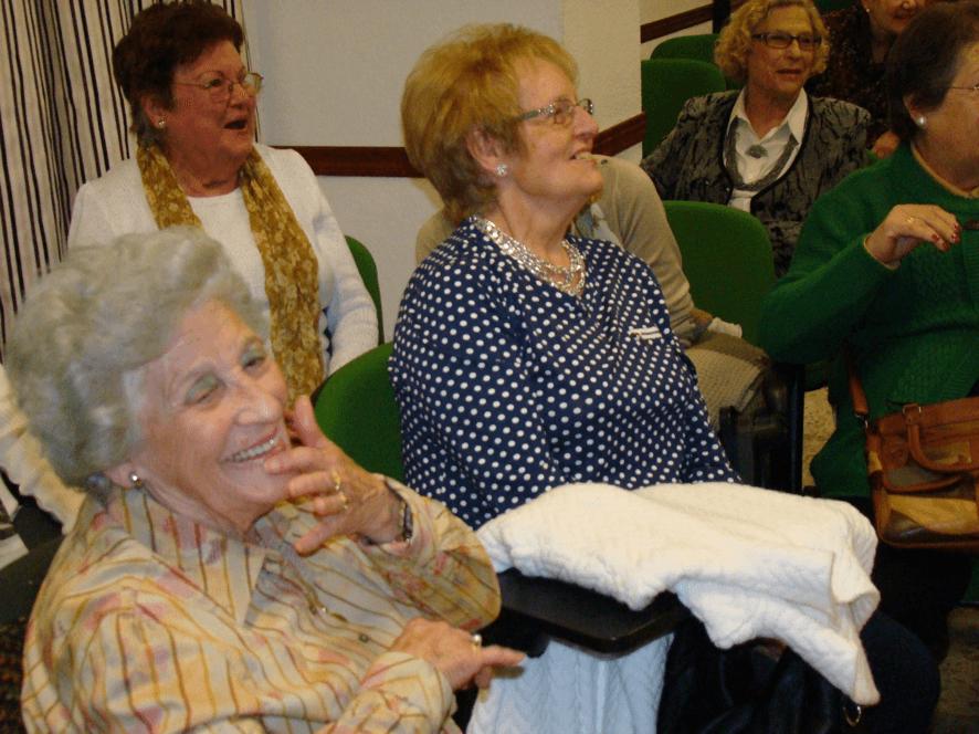 risoterapia para la tercera edad Residencia de ancianos Almería SIERRA SALUD